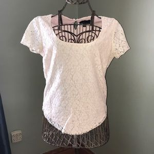 Cynthia Rowley Lace Top - Size S